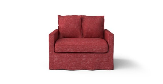 Ikea Harnosand 1 Seater Sofa Slipcover Only In Nomad Red