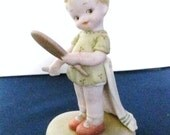 """Enesco Memories of Yesterday """"Now I'm the Fairest of Them All""""-Figurine-Children-Girl-Porcelain"""