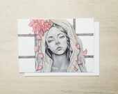 You are Gifted - Art Postcard - Small Art Print