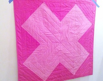 Modern Baby Quilt - FREE SHIPPING