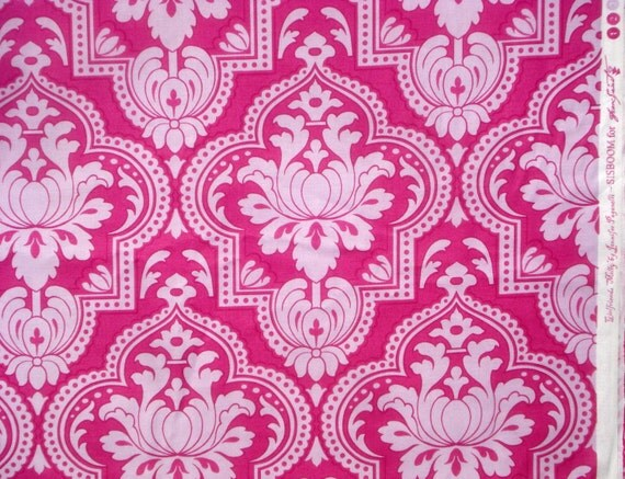 SALE : Girlfriends Molly lavender fuchsia Jennifer Paganelli Free Spirit fabric FQ or more