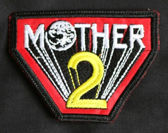 Earthbound Mother 2 embroidered patch classic video game Ness Giygas