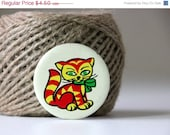35% OFF Adorable russian metal pin CAT, made in Soviet Union
