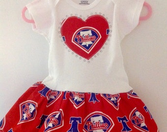 Philadelphia Phillies Inspired Dress