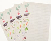 Farmer's Market - A5 Stationery - 12, 24 or 48 sheets