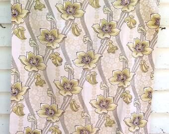 Vintage/Antique French Art Nouveau Cotton Fabric