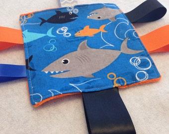 Shark Baby  Crinkle Toy