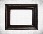 Picture Frames 5x7 Picture Frame Black Picture Frames or Custom Color Distressed Frame Rustic Shabby Chic Home Decor Nursery