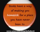 Literary Homesickness Button