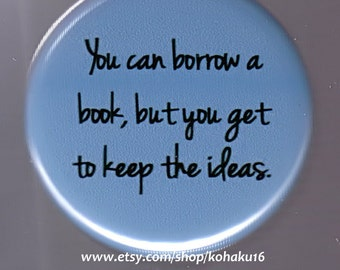 Book Borrower Button