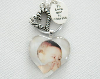 CUSTOM PHOTO NECKLACE/ Personalized pendant w/ Your Photo