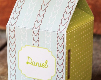 Green Candy Box | Green Box Printable | Green Box Printable INSTANT DOWNLOAD