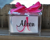 LARGE - Personalized Recipe Box with 60 Blank cards