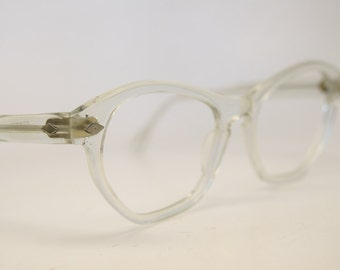 Clear cat eye glasses vintage cateye eyeglasses frames