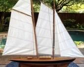 Vintage Pond Boat