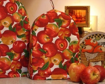 "ARTI Can Opener Cover. , APPLES on White for Black and Decker ""Grand Openings"" Can Opener"