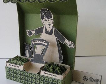 Market Maria - Kit - Sculpture Toy & Italian Lesson!