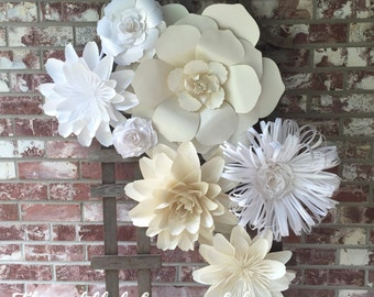 Large Paper Flower Wall Decor/Backdrop