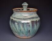 Juniper Pottery Jar Stoneware Ceramic Canister A
