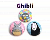 Ghibli Button or Magnet 1-inch