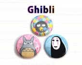 Ghibli Button or Magnet 1-inch Set