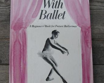 vintage fun with ballet book a beginners book for future ballerinas 1952 hardback
