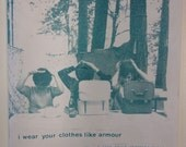 I Wear Your Clothes Like Armour - Throwing Muses zine