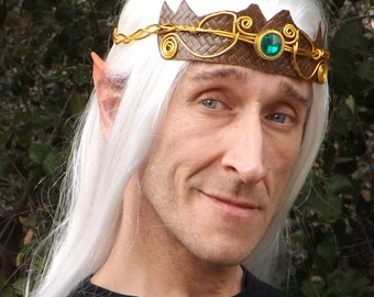 Elf King Thranduil Fairy Cosplay LARP LOTR Halloween Latex Prosthetic Ears