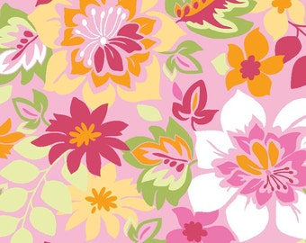 Extravaganza Main in Pink Fabric - Half Yard