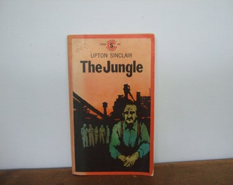 The Jungle by Upton Sinclair Vintage Signet Classic