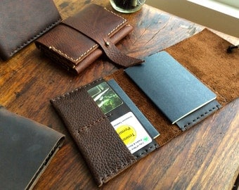 Mens passport wallet, Credit card case, Leather passport holder, Mens leather travel wallet, Passport sleeve, Id holder, Traveling gifts