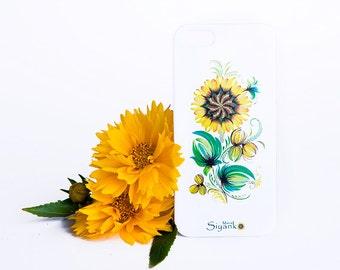 Sunflower iPhone Floral Case - iPhone 6 / 6 Plus Case - iPhone 5 / 5S Case - iPhone 4 Case - HTC - Samsung - Lenovo - Sony - Nokia