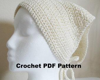 Crochet Vanilla Bandana Pattern