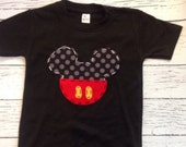 Mickey mouse birthday shirt, girl boy t shirt,