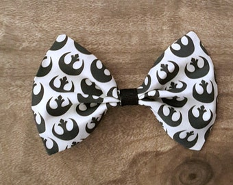 Star Wars Rebel Hair Bow White