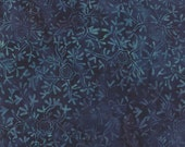 Cold Spell Batiks - Snowlfakes in Midnight by Laundry Basket Quilts for Moda Fabrics