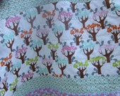 Baby/Toddler Quilt... Fun at the Park.....Patchwork.... Cute Animals...Ready to Ship
