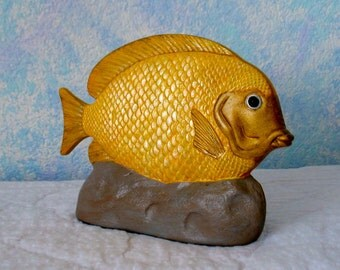Ceramic Fish, Yellow
