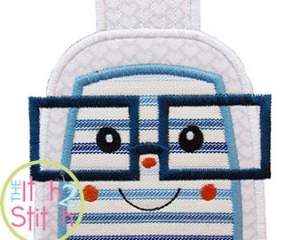 Lego Astronaut Benny Applique 2 sizes 5x7 and 5in tall ...