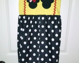 Mickey & Minnie diaper stacker