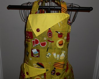Let's Barbecue Women's Apron