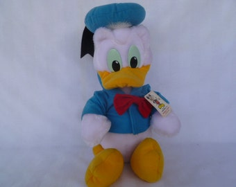 Vintage Disney Donald Duck  Plush With Tags