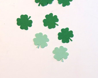 Confetti Shamrock Green St Patrick's Day 600 Pieces