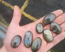 10g-250g Lot of Labradorite Cabochons - New Lower Wholesale Price!
