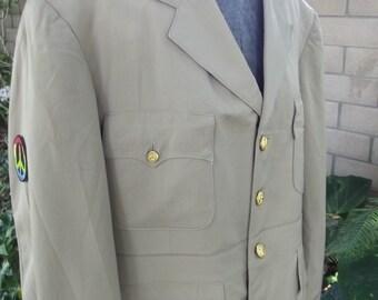 1940's Four Pocket WWII Military Jacket