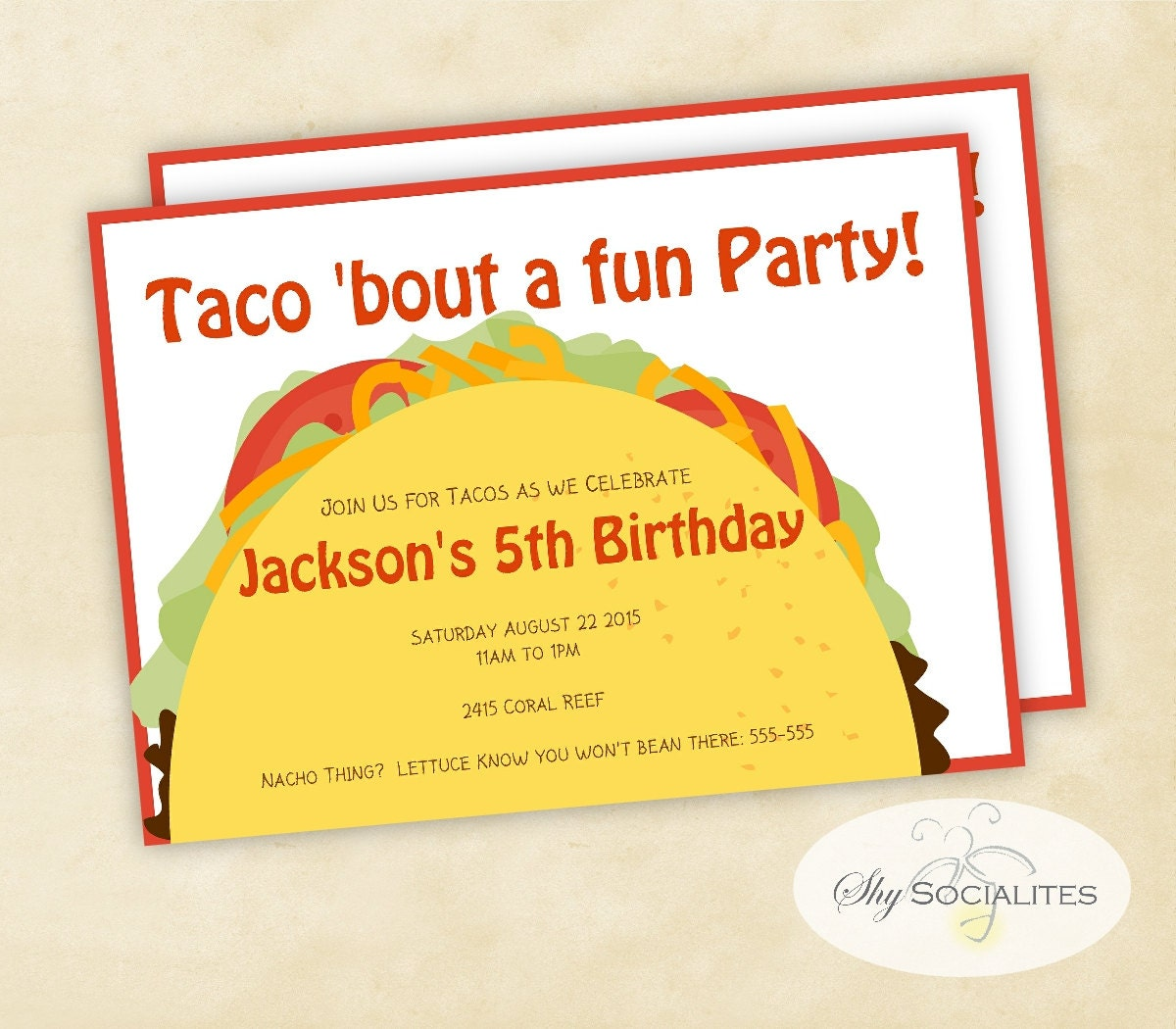 il_fullxfull.762442687_iwow taco party taco tuesday cinco de mayo fiesta taco bar,Taco Party Invitations