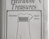 Pattern - Katrina #200 Girl's shift dress with a smocked insert, Size 12, 14, 16 - by Maja's Heirloom Treasures