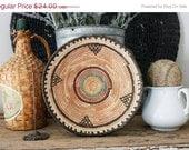 SHOP SALE Vintage Southwestern Woven Bowl
