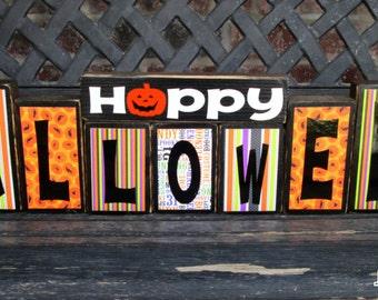 Happy Halloween blocks-XL set