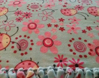 Ladybug Ladybug Fleece Blanket
